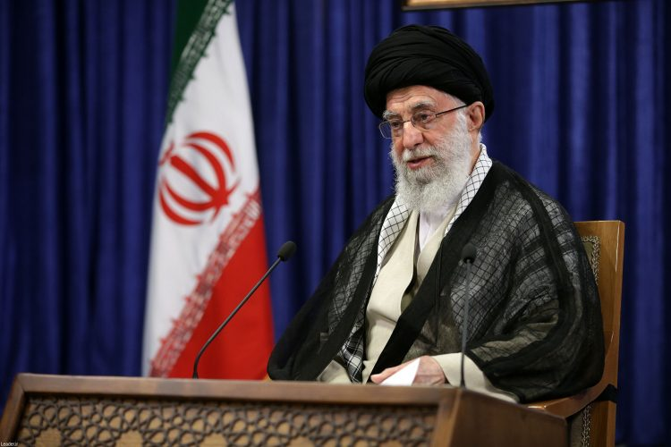 Iranski vrhovni vođa, ajatolah Ali Hamnei,