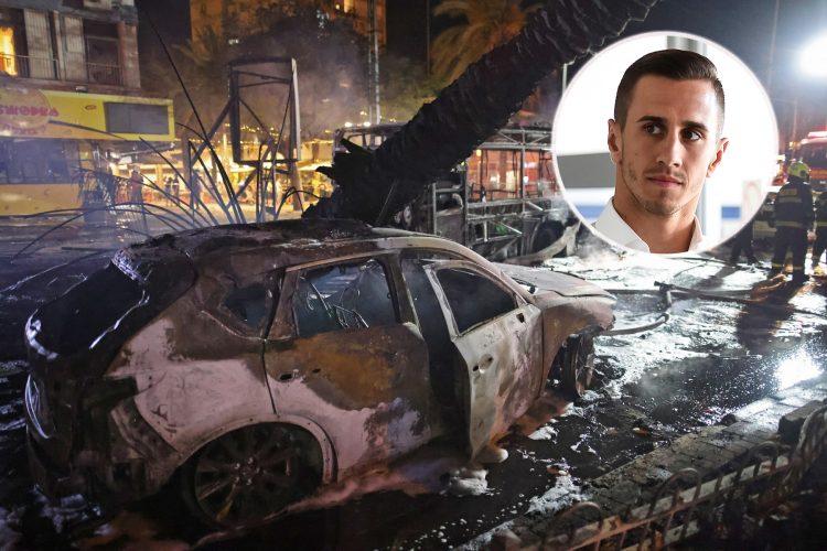 Tel Aviv napad, Aleksandar Pešić