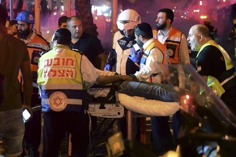Izrael napad Tel Aviv