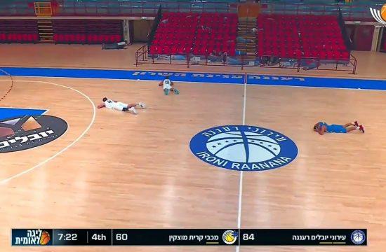Izrael, kosarkaska utakmica