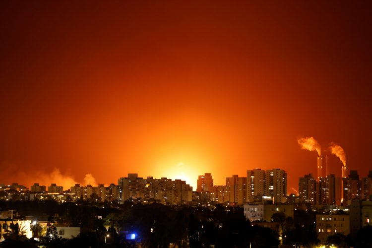 Izrael napad Aškelon