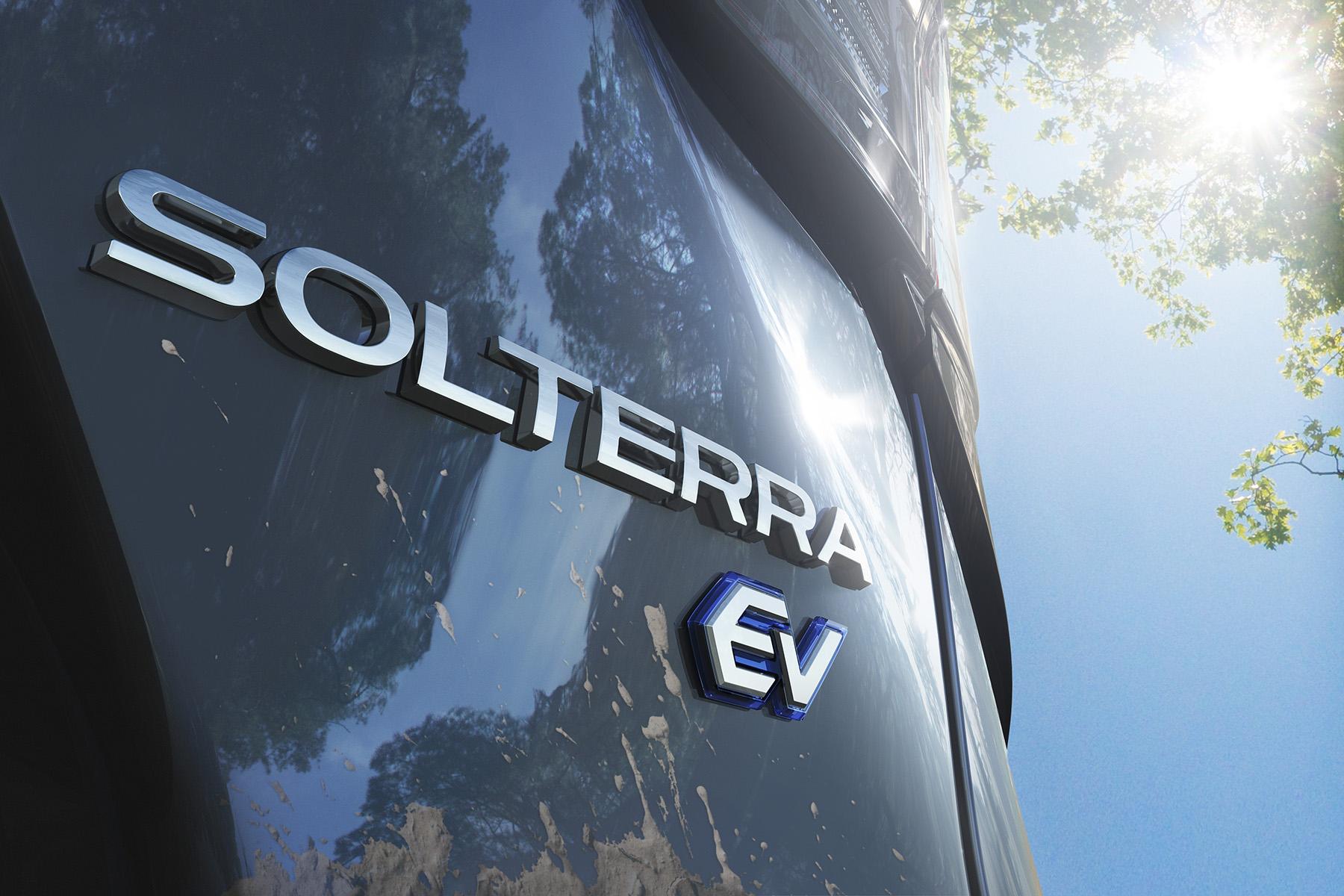 Automobil Suv, Solterra Subaru