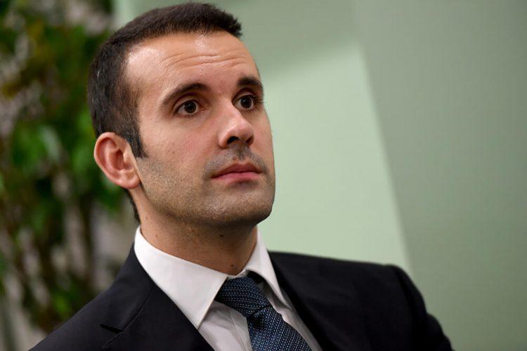 Milojko Spajic Ministar finansija i socijalnog staranja CG