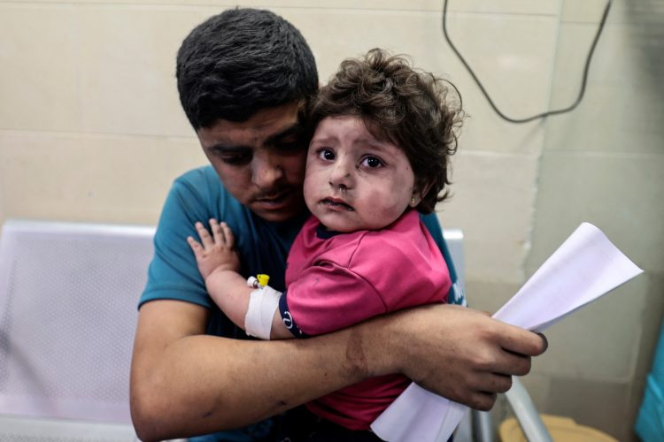 Gaza deca bolnica