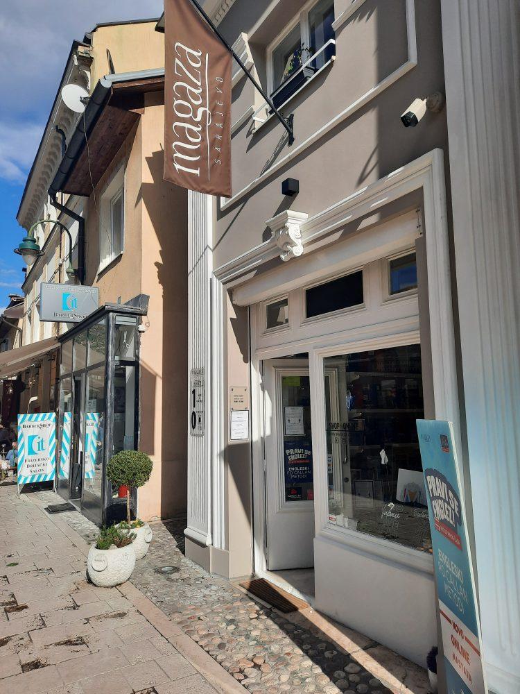 Sarajevo, Baščaršija, Dino Merlin prodavnica