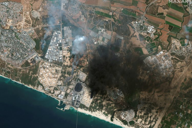 Foto: Satellite image 2021 Maxar Technologies/Handout via REUTERS