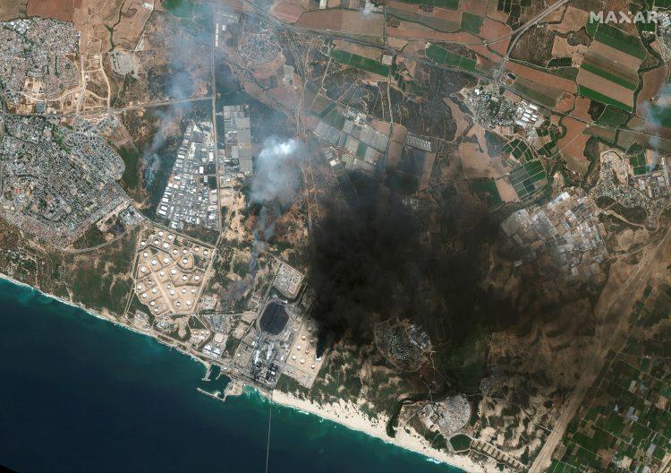Foto: Satellite image 2021 Maxar Technologies/Handout via REUTERS