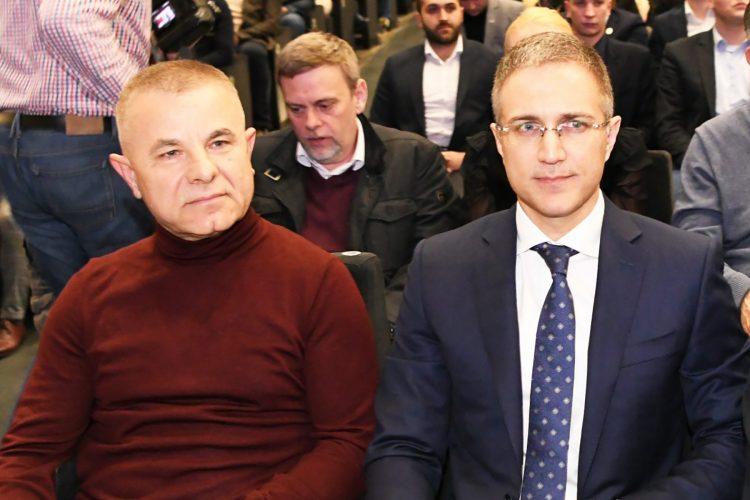 Milosav Milickovic i Nebojsa Stefanovic