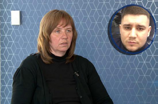 Mara Halabrin majka ubijenog Aleksandra Halabrina Aleksandar Halabrin