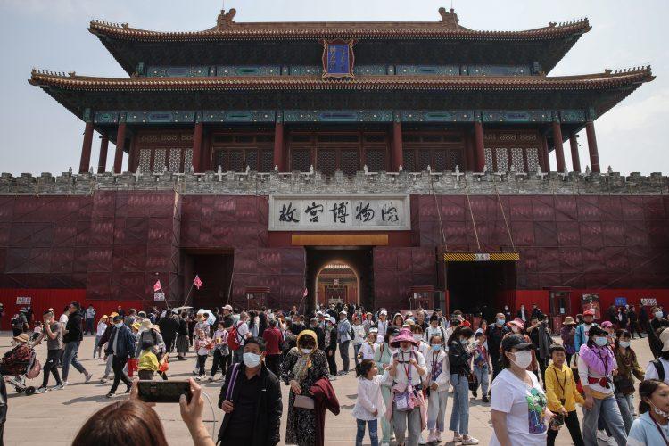 Kina Peking koronavirus