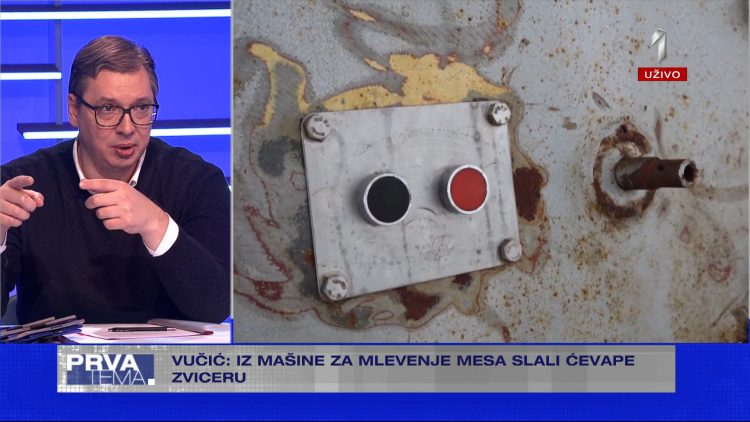 Aleksandar Vucic snimci dokazi protiv grupe Veljka Belivuka Velje Nevolje