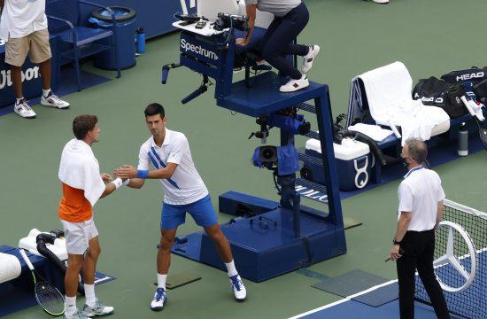 Novak Đoković i sudija koja ga je izbacila sa US Opena 2020.