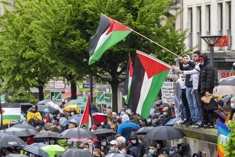 Protesti podrske Palestini
