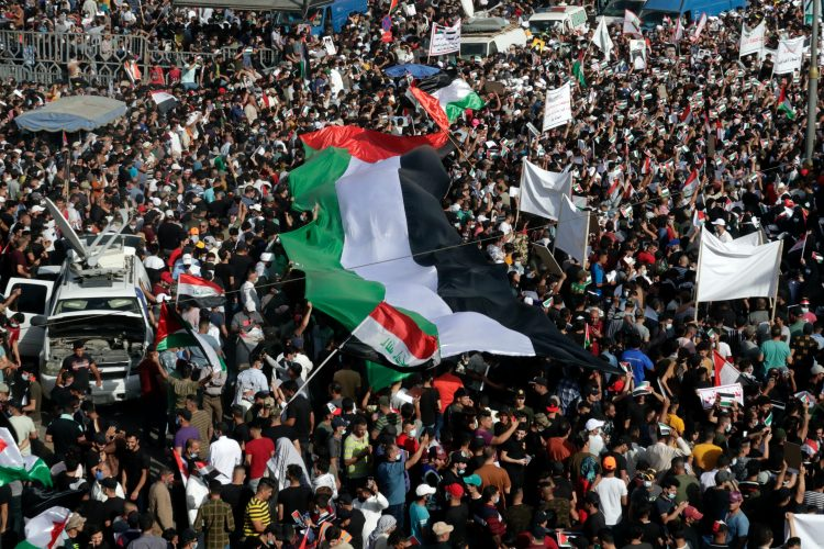 Irak protest