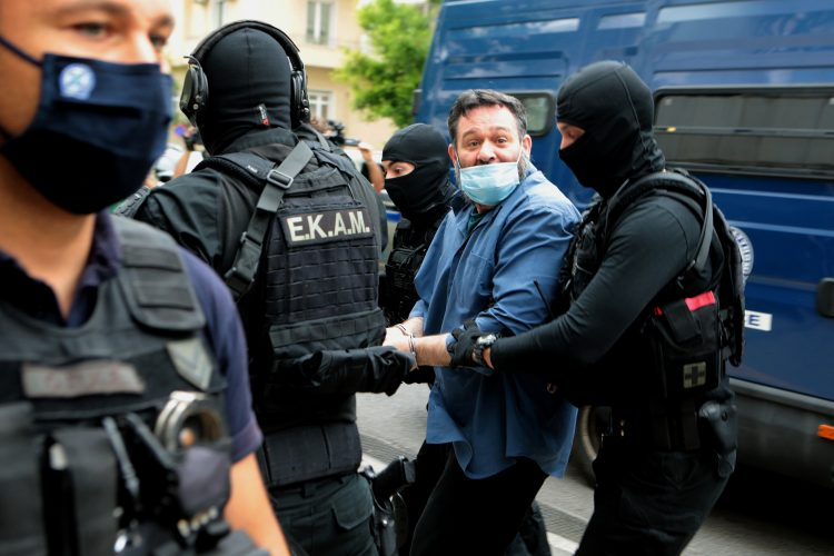"""Bivsi clan grcke ultradesnicarske stranke """"Zlatna zora"""" Joanis Lagos"""
