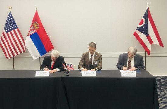 Srbija Ohajo memoradum o razumenvanju u oblasti obrazovanja Marko Djuric Rendi Gardner Paolo De Marija
