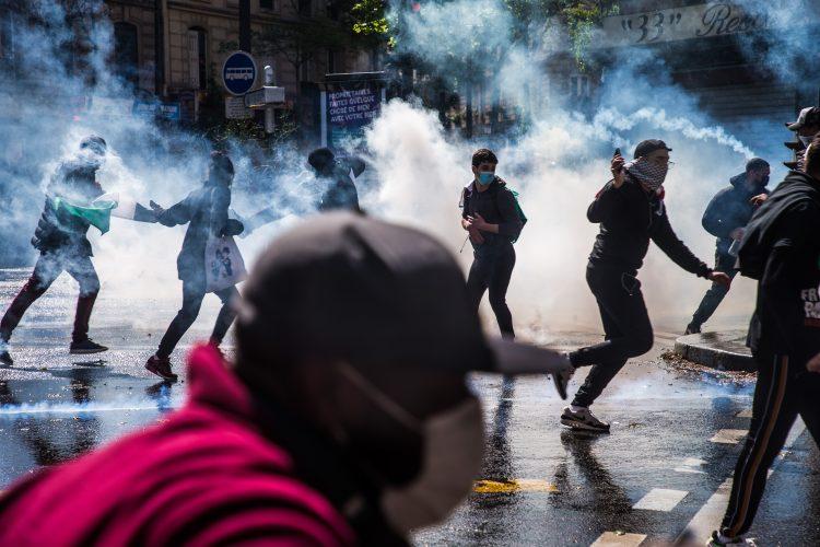Pariz protesti podrska Palestina