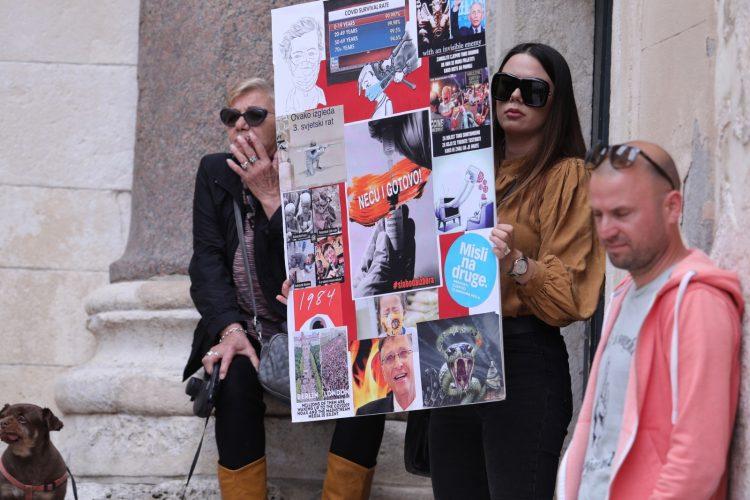 Hrvatska Split Svetski protest za slobodu