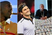 Majkl Džordan, Flojd Mejveder i Rodžer Federer