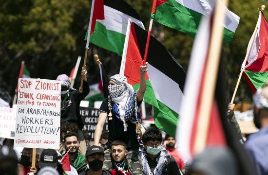 Protesti podrške-Palestina,