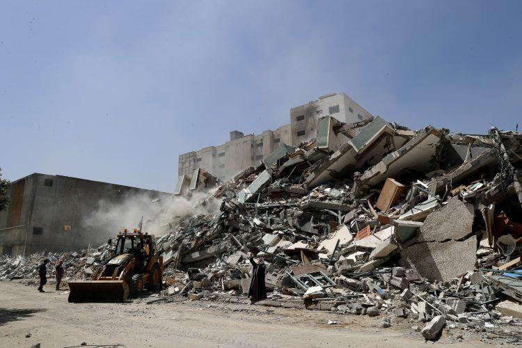 Gaza ruševine,