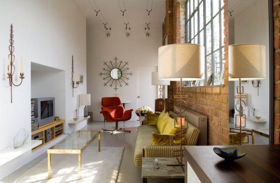 dnevna soba; dizajn enterijera; uska prostorija
