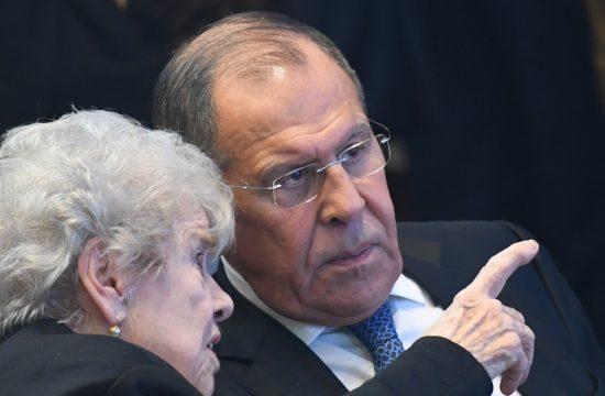 Suzana Masi i Sergej Lavrov