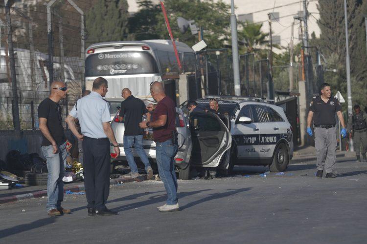 Izrael Jerusalim policija