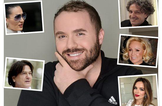 Astrolog Velimir Remić, Goran Bregović, Zdravko Čolić, Lepa Brena, Severina, Ceca Raznatović