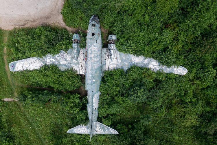 Napusteni aerodrom Zeljava Hrvatska