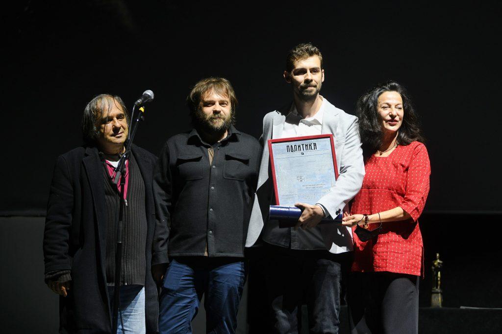 Nemanja Ceranic dobitnik nagrade dnevnog lista Politika Fest zatvaranje