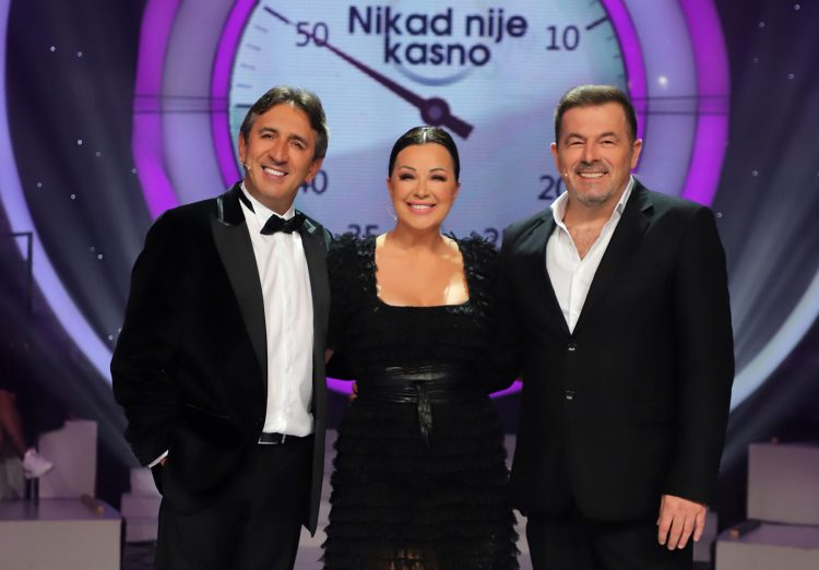 Zika Jaksic, Dragana Katic i Sasa Milosevic Mare