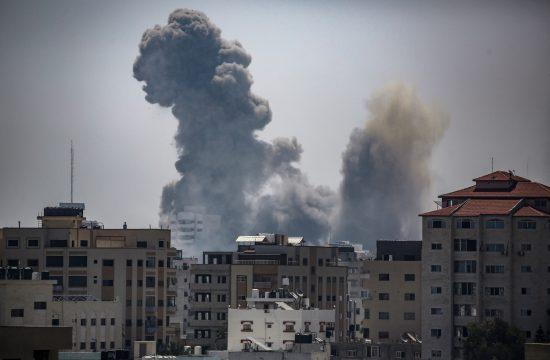 Gaza sukob Palestina eksplozija