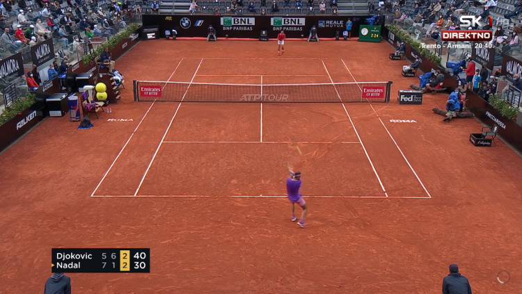 Novak Đoković - Rafael Nadal