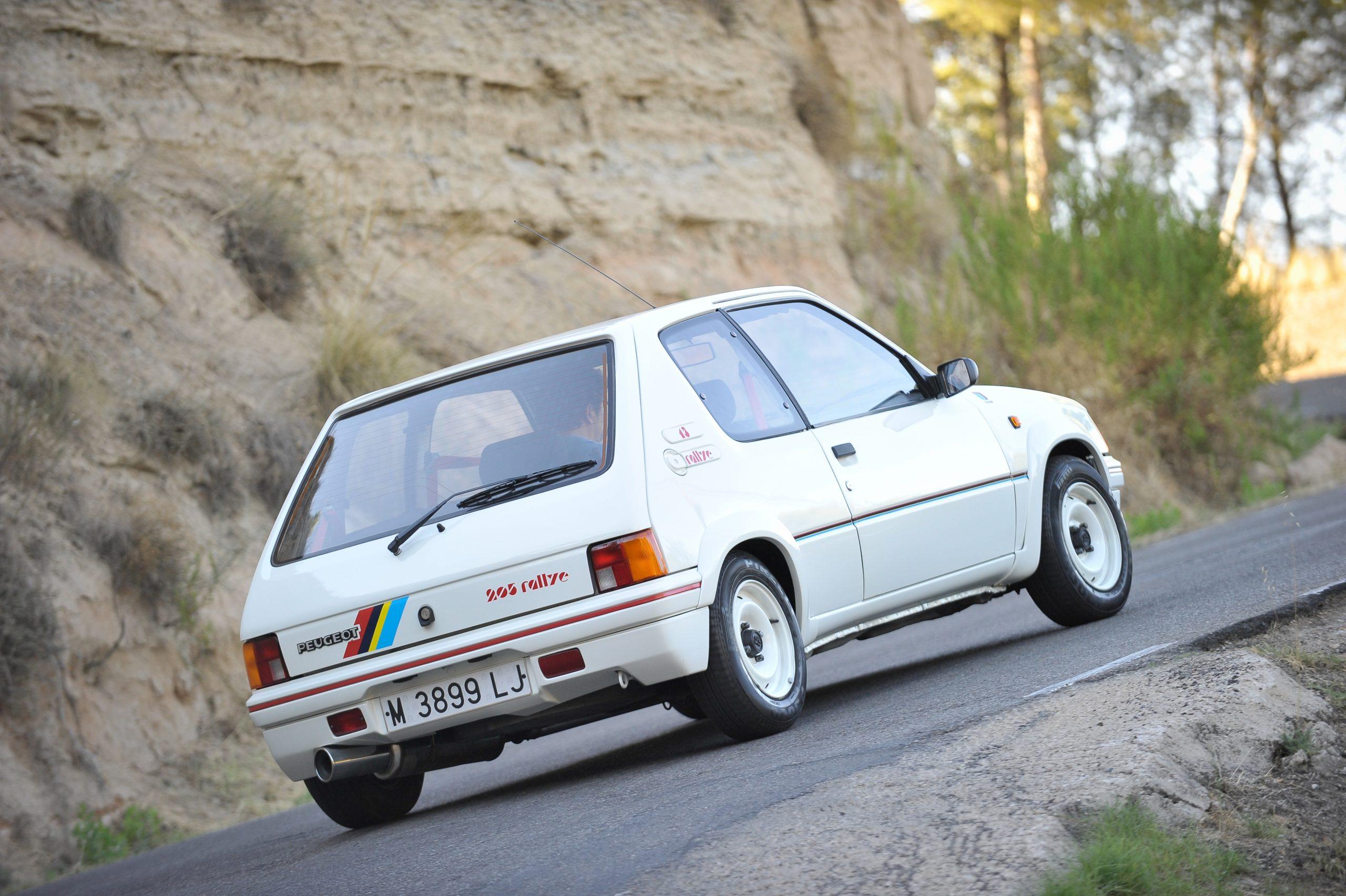 Peugeot, Peugeot 205 rallye
