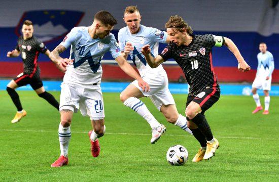 Fudbalska reprezentacija Hrvatske, Slovenije Hrvatska - Slovenija