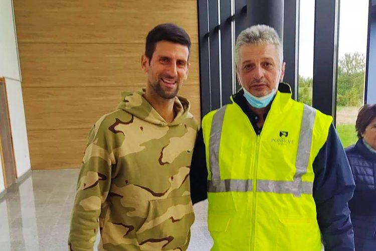 Novak Đoković sleteo na aerodrom Ponikve