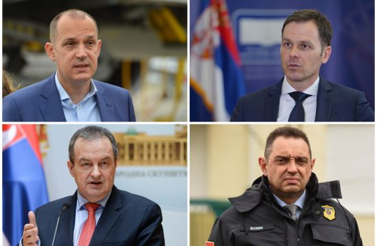 Zlatibor Lončar, Siniša Mali, Ivica Dačić, Aleksandar Vulin