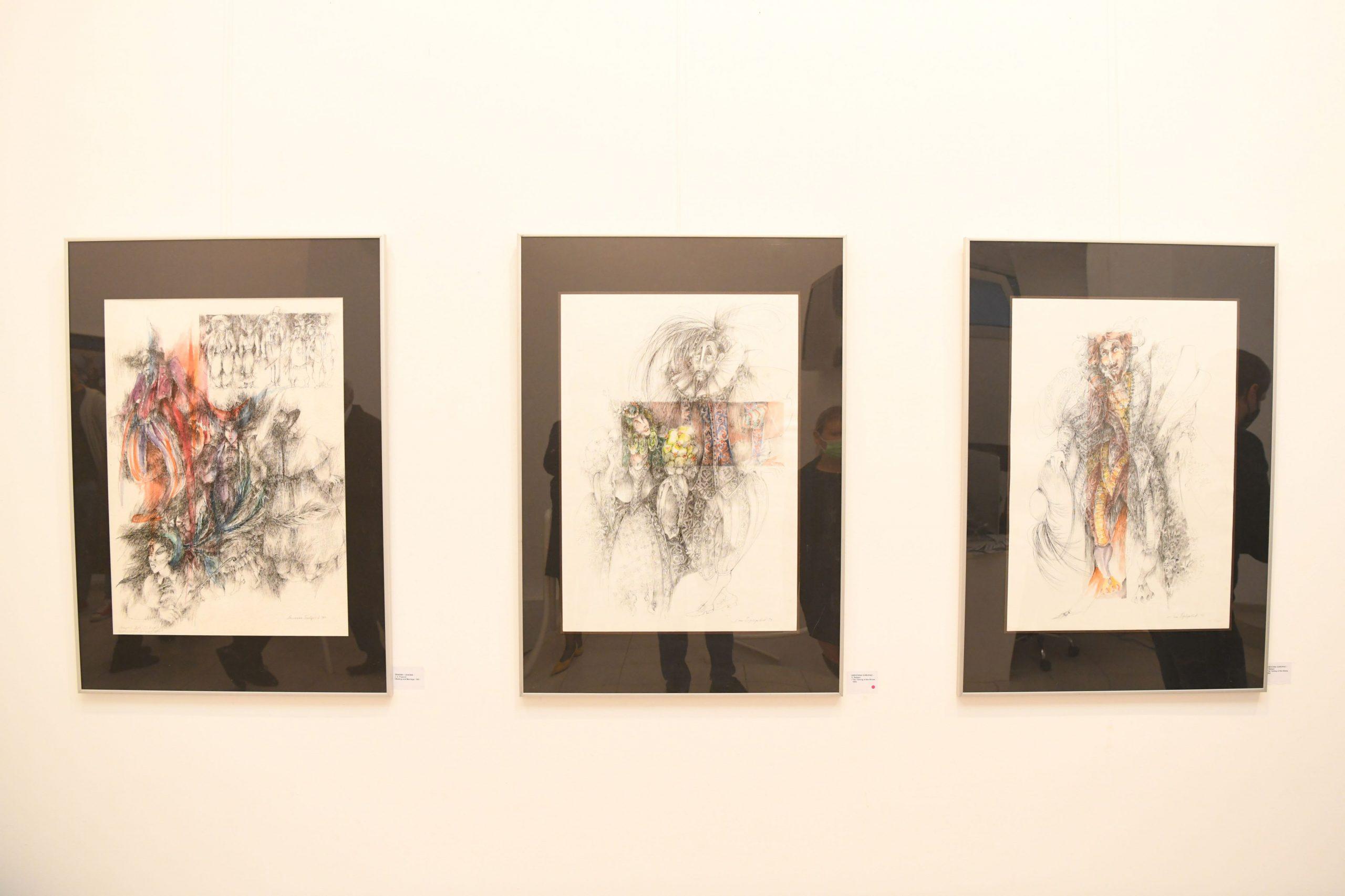 Milanka Berberović, izložba, galerija Haos