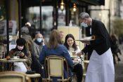 Pariz, otvoreni restorani