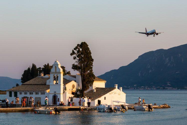 Grčka avionom