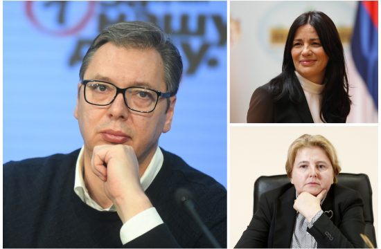 Vučić, Jasmina Vasović i Zagorka Dolovac