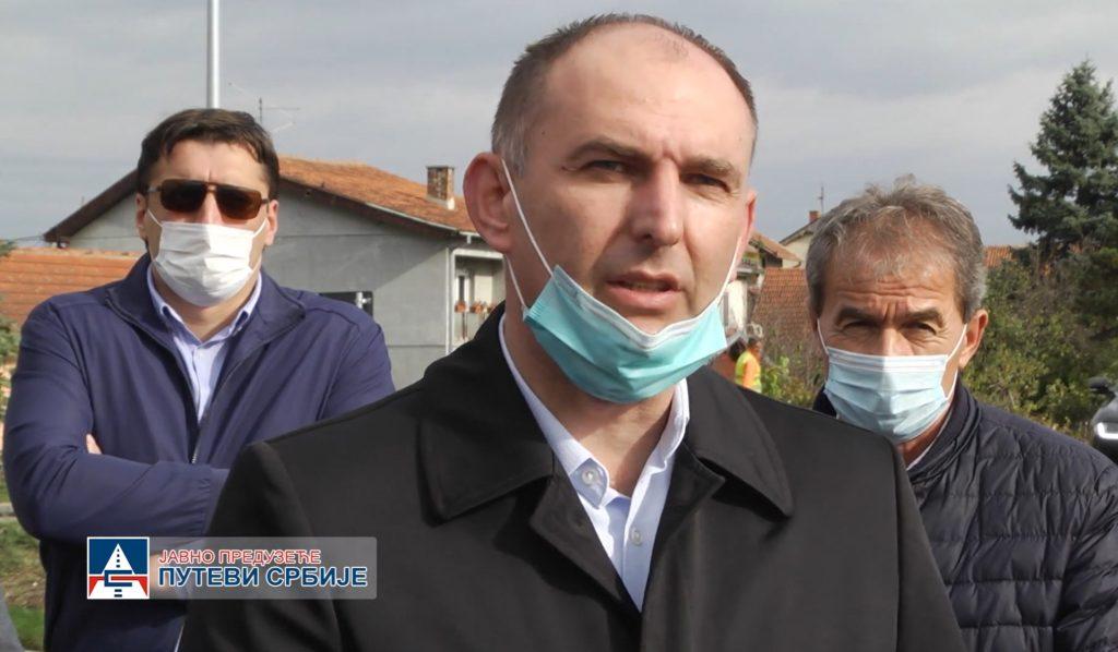 Zdravko Mladenović, predsednik opštine Batočina
