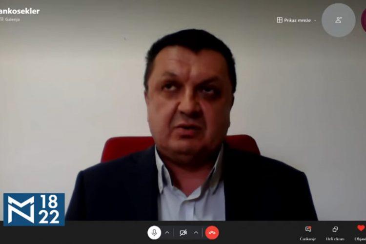 Milanko Šekler, emisija Među nama, Medju nama