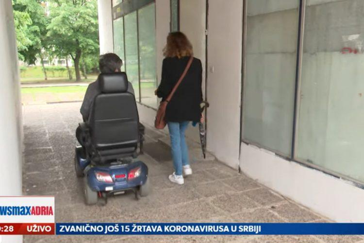 Prilog, Invalidi Novi Beograd, Da li su osobe vezane za kolica osuđene, osudjene na ograničeno kretanje, emisija Pregled dana