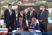 Prilog, Milenium tim, Milenijum Tim, Kompleksi u Vranjskoj Banji prodati kompaniji Milenijum, Premijerka oduševljena, emisija Pregled dana