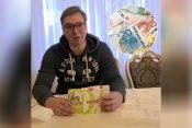Aleksandar Vučić, vitamini, evri, euri, pare