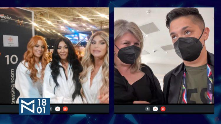 Hurricane, Marija Šerifović, Evrovizija, emisija Među nama, Medju nama