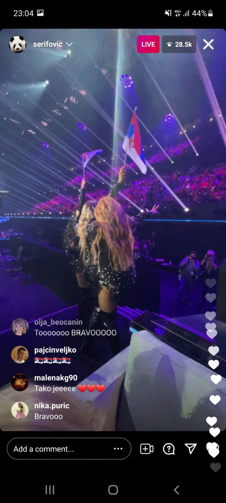Hurricane, Evrovizija, finale
