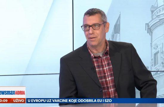 Branko Čečen, gost, emisija Pregled dana